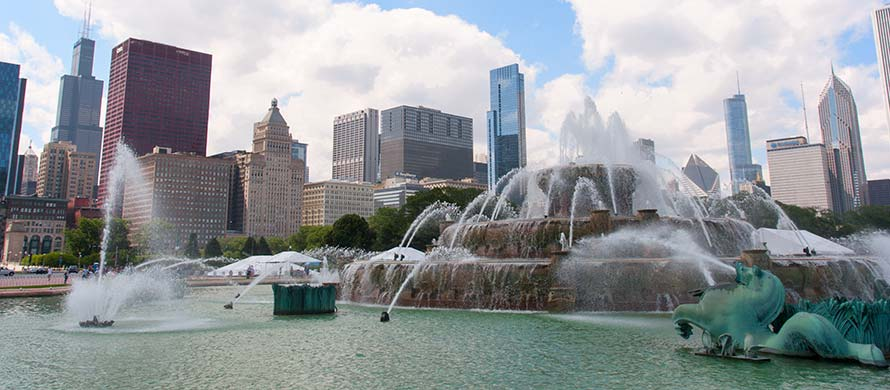 Buckingham Fountain Chicago, IL
